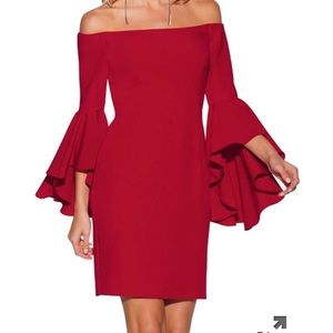 Boston proper flare sleeve dress